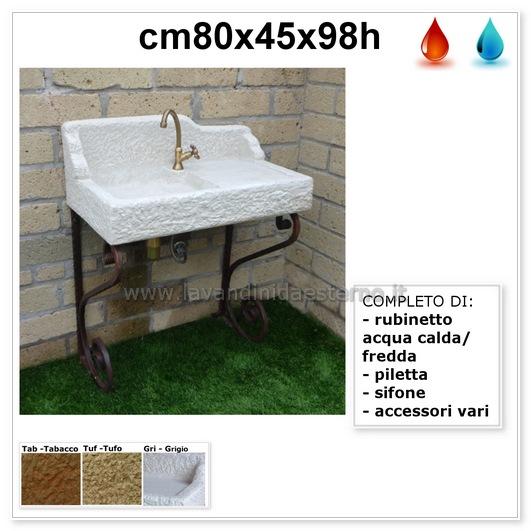 lavandino da esterno nonna maria aq8050rok