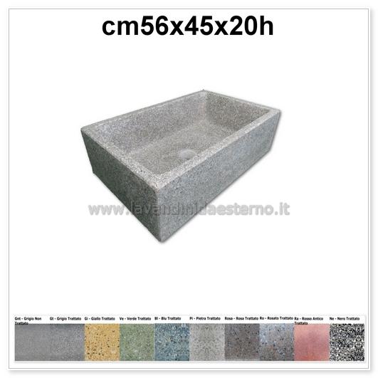 lavello cucina in pietra pilozzino 288