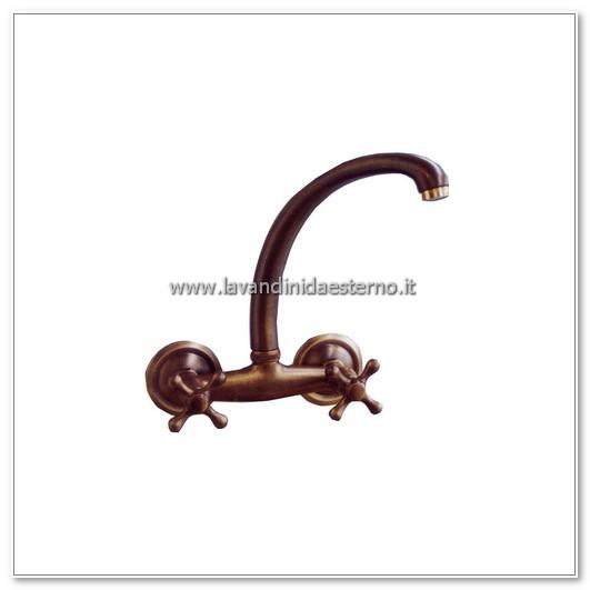 rubinetto a muro gruppo lavello snodo superiore 507