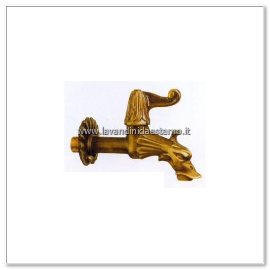 rubinetto a muro pulsante tradizionale 518