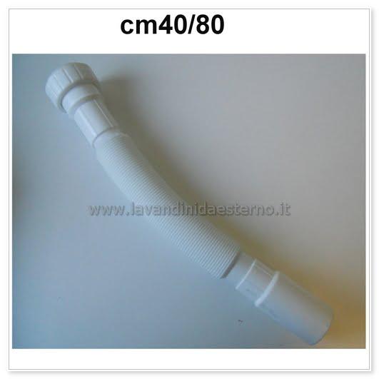 Tubo smart di scarico in pvc zka29778 lavandini da for Collegamento del tubo di rame al pvc