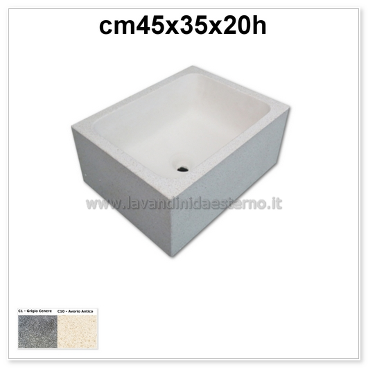 Lavelli in pietra pk481 | i migliori prezzi | acquai per esterno