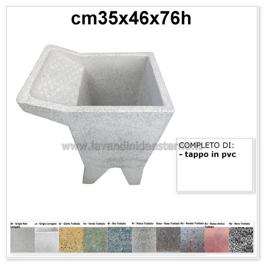 Lavatoio Da Esterno Roma.Lavatoio Da Esterno Una Vasca 2 In Graniglia Levigata Vari Colori