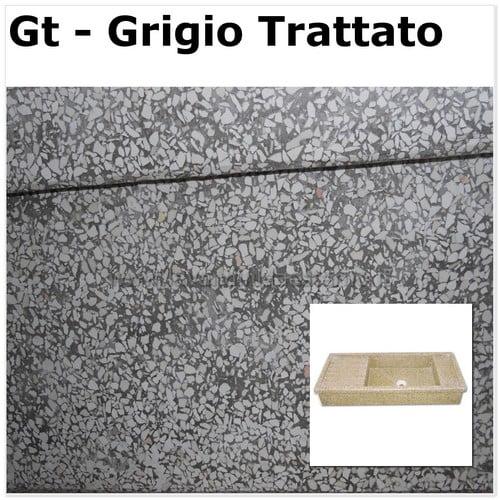 Lavello da esterno acquaio in graniglia levigata 66 - Lavelli cucina in pietra ...