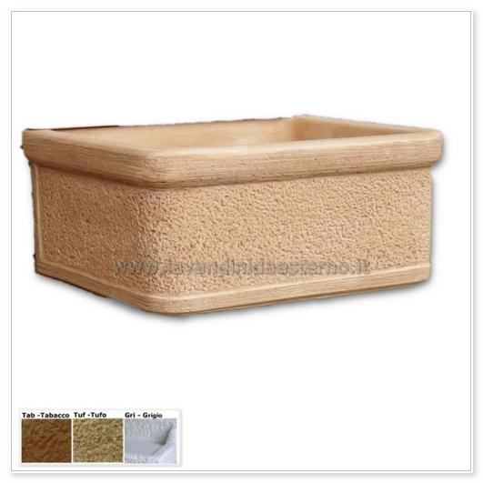 Acquaio da giardino vasca nonna nerina aq9510 lavandini for Vasca tartarughe da esterno