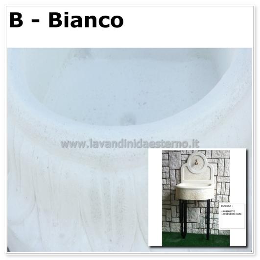 Lavandino per esterno bordeaux la006pf003 lavandini da for Lavandino giardino