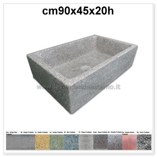 lavello cucina in pietra pilozzino 282