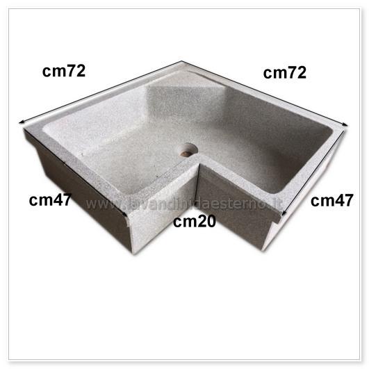 scheda tecnica lavello da esterno 61014635