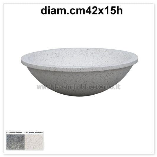 lavabo moderno ciotola 579pl911