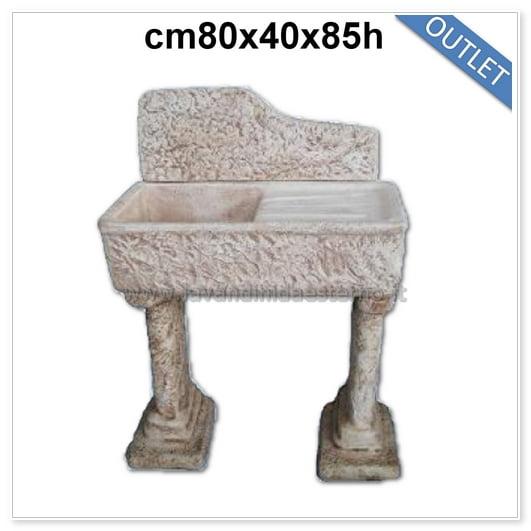 lavandini da esterno outlet lavello pietra 83354
