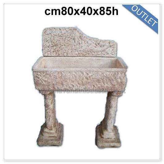 lavandini da esterno outlet lavello rustico 83355
