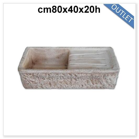 acquaio lavello pietra outlet 83351