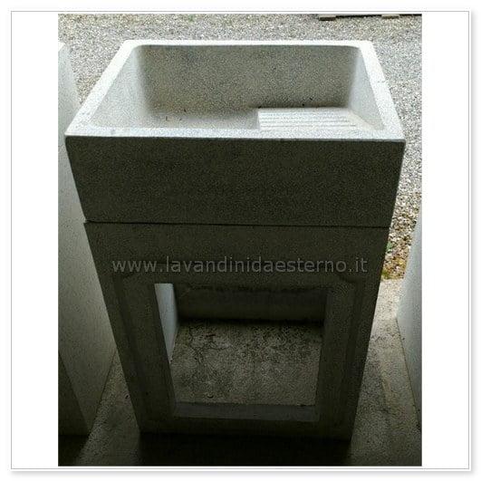 lavabo in graniglia