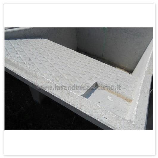 lavatoio cemento esterno