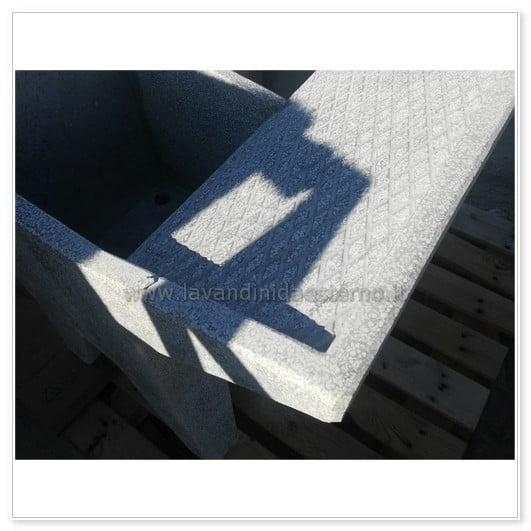 lavatoio in cemento per esterno