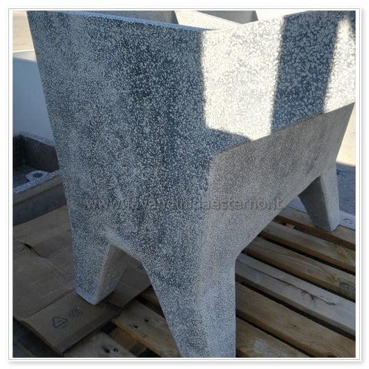 lavatoio in cemento