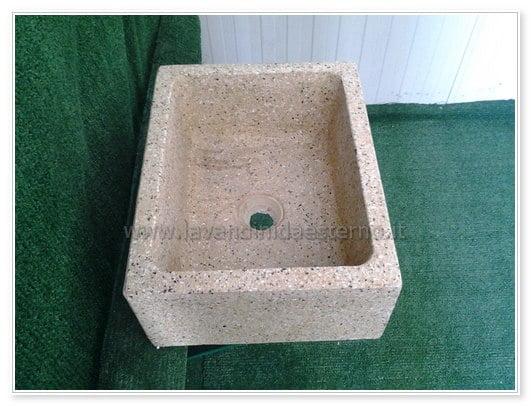 lavabo pietra da esterno